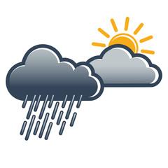 Wetterbericht, Regenschauer, herbstlich