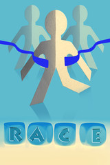 Race, Competition Concept