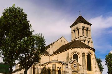 Saint-Pierre de Montmartre on Montmartre , Paris, France.