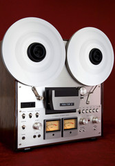 Analog Stereo Open Reel Tape Deck Recorder Vintage