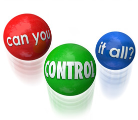 Can You Control It All Words Juggling Balls Priorities