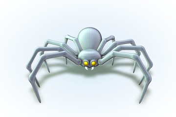 White Widow Spider
