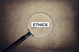 looking ethics poster