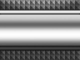 Metal aluminium plate shining background