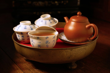 Antique Chinese tea set