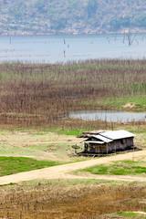 Little hut riverside