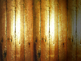 the old wooden floor