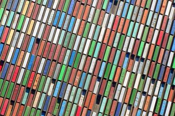 Luftaufnahme Container Terminal von oben