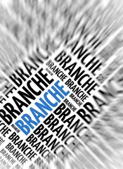 German background - Branche (branch)