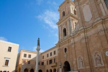 Brindisi, piazza Duomo - Puglia - Italy