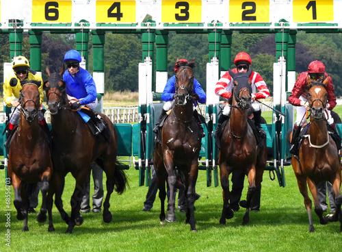 Leinwanddruck Bild York Races