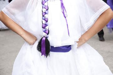 Costa Rica folk costume