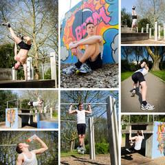 sportübungen im freien