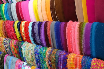 Colorful Fashion Headscarf