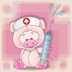 Pig nurse