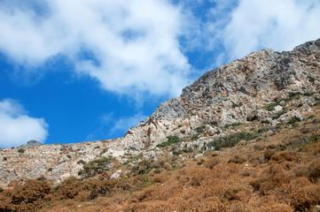 Montagna di roccia su Balos