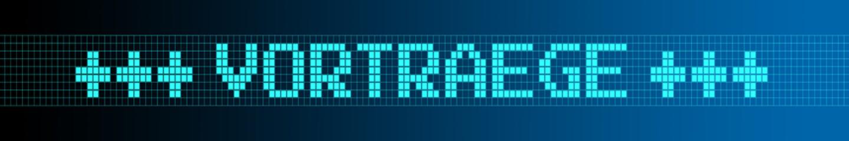 Website Banner - Vorträge - Format 6 zu 1 - g965