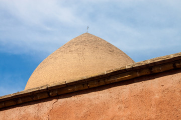 Roof of Armenian chuch in Isfahan, Iran.