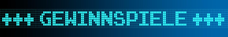 Website Banner - Gewinnspiele - Format 6 zu 1 - g966