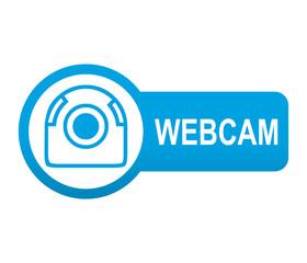 Etiqueta tipo app azul alargada WEBCAM