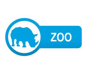 Etiqueta tipo app azul alargada ZOO