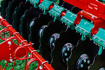 Detail of agricultural equipment 14