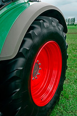 Detail of agricultural equipment 17