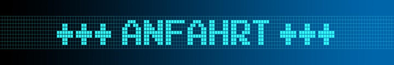 Website Banner - Anfahrt - Format 6 zu 1 - g973