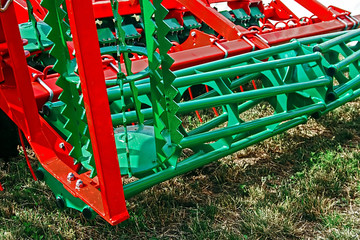 Detail of agricultural equipment 40