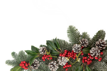 Christmas Decorative Border