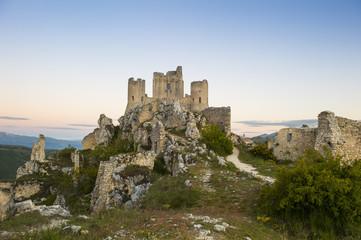 Rocca di Calascio - imposing medieval castle ruins in Abruzzo