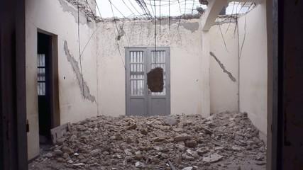 house demolished