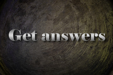 Get answer text on Background