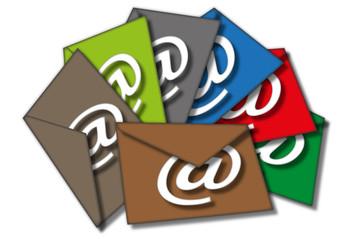 bunte E-mails