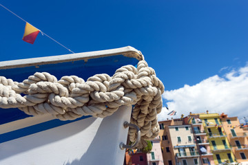 Bow of the Boat - Liguria Italy