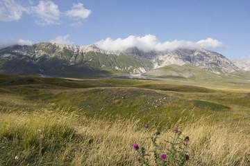 Catena montuoss del Parco Nazionale del Gran Sasso
