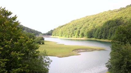 Leurtza reservoir.