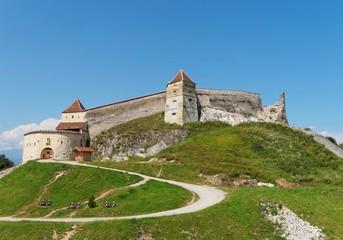 Medieval fortress in Rasnov (Cetatea Rasnov), Romania