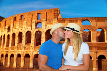 Romantic vacation to Rome, Italy