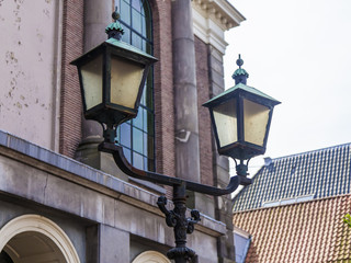 Haarlem, Netherlands. Typical architectural details