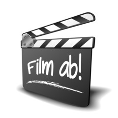 Filmklappe Film Ab