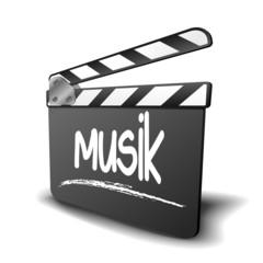 Filmklappe Musik