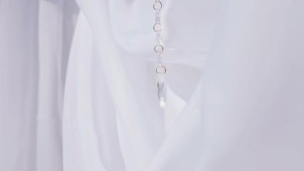 Ribbon decoration crystals