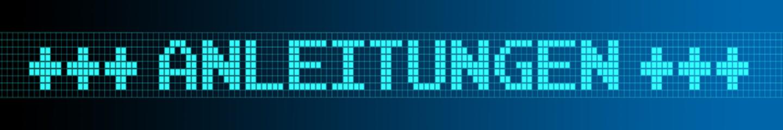 Website Banner - Anleitungen - Format 6 zu 1 - g1011
