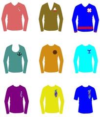 nautical designed t shirts