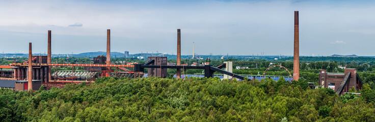 Panorama der Kokerei der Zeche Zollverein Essen NRW