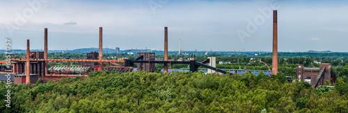 Panorama der Kokerei der Zeche Zollverein Essen NRW - 68571757