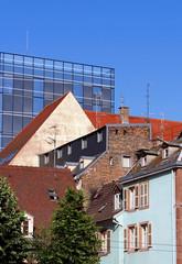 immeubles ancien et nouveau