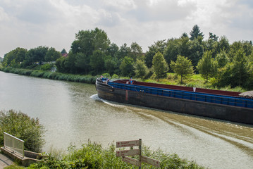 Cargo riverboat