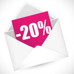 Promo 20 %